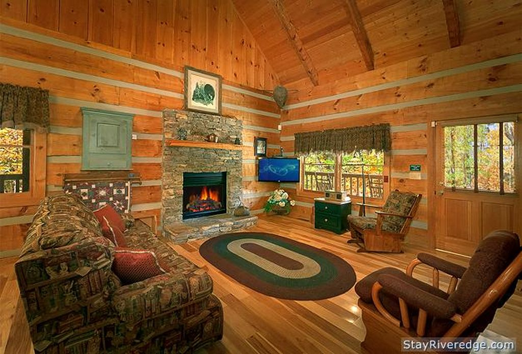 Living room of Woodland Wonder