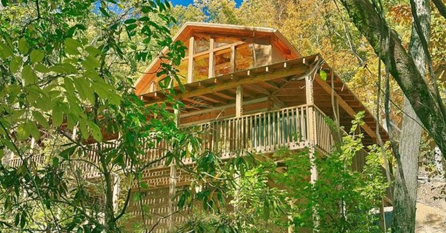Natures Melody Cabin near RV Pigeon Forge Campground